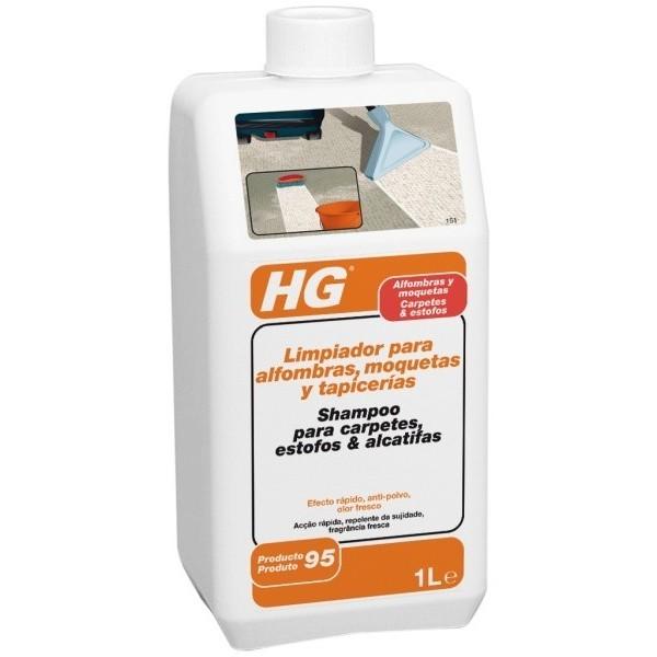 Hg limpiador para alfombras moquetas y tapicer as 95 1lt - Limpiador de alfombras ...